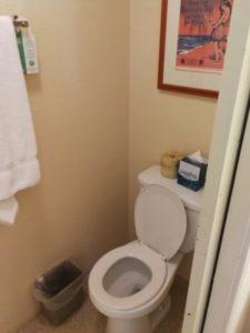 アクア オヒア ワイキキのトイレ