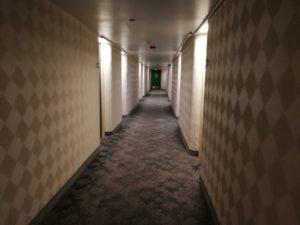 アクア オヒア ワイキキの廊下